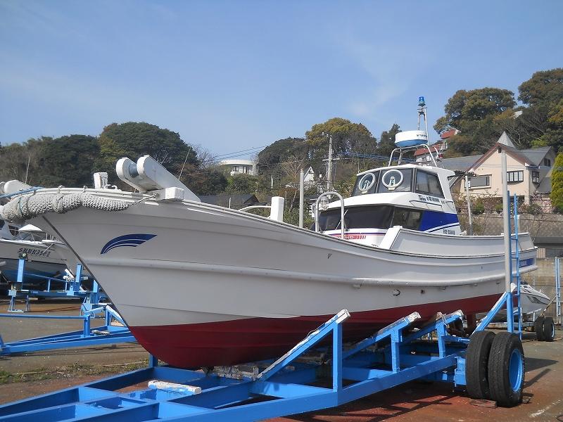 【漁船·中古】中古漁船